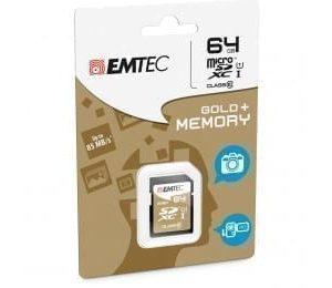 Carte mémoire Emtec SDXC 64Go