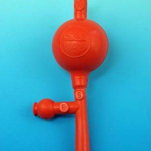 Ballon à pipeter, modèle universel Hecht Assistent