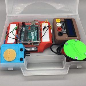 Mallette pressiomètre thermomètre pour Arduino