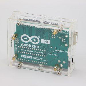 Boîtier translucide pour Arduino Uno R3
