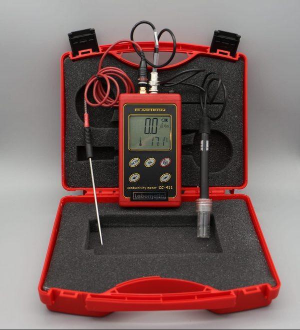 Conductimètre portable étanche ELMETRON CC411