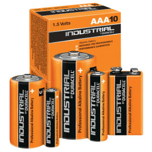 Piles alcalines Duracell Industrial