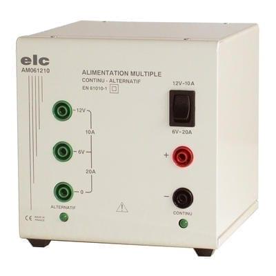 Alimentation AC DC 6/12V 10A (AM061210 ELC)