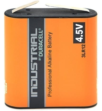 Piles alcalines Duracell Industrial 3R12