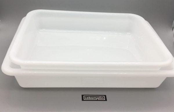 Bac plat PE pour rangement ou cuvette