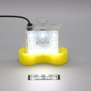 LED RVB et blanche tactile