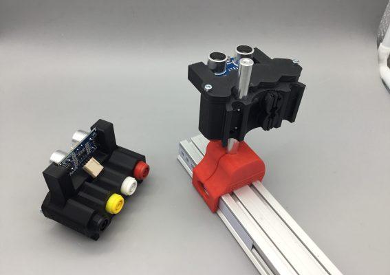Telemetre HC-SR04 4mm