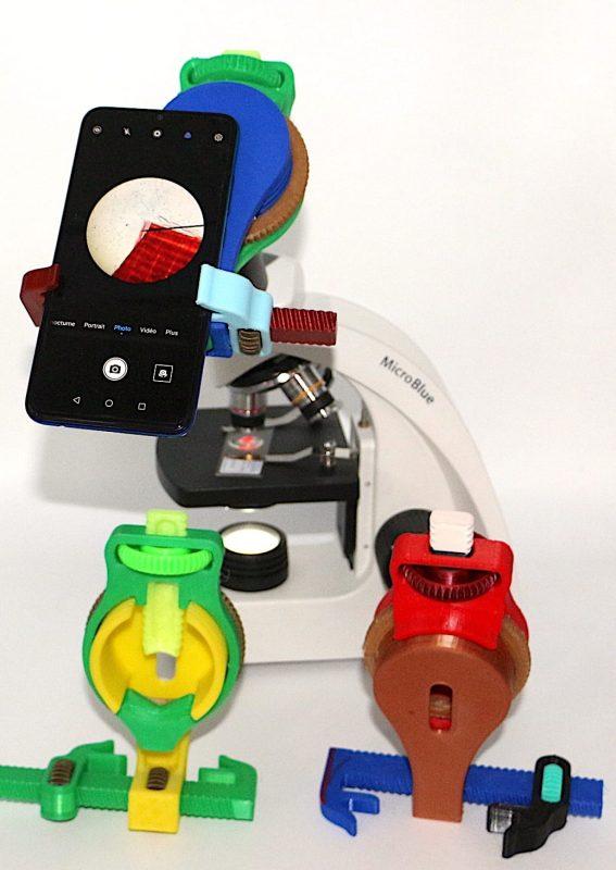 Adaptateur de téléphone pour microscope